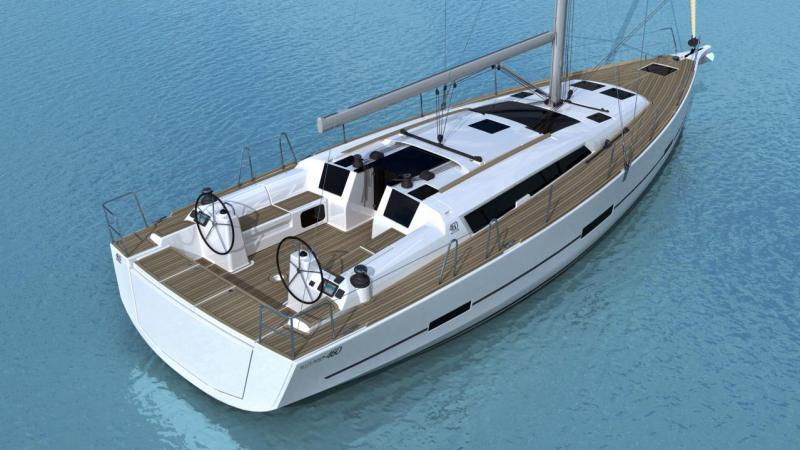 Dufour 460 GL - 5 cab. / Sea Splash - J (2019)